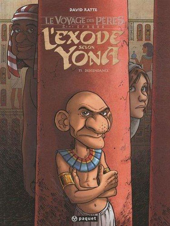 L'exode selon Yona  1 - Descendance  BD