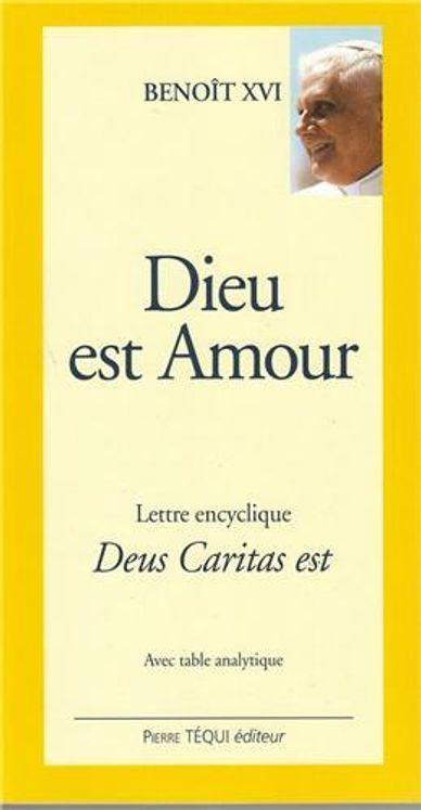 Dieu est Amour - Deus caritas est (gros caractères)