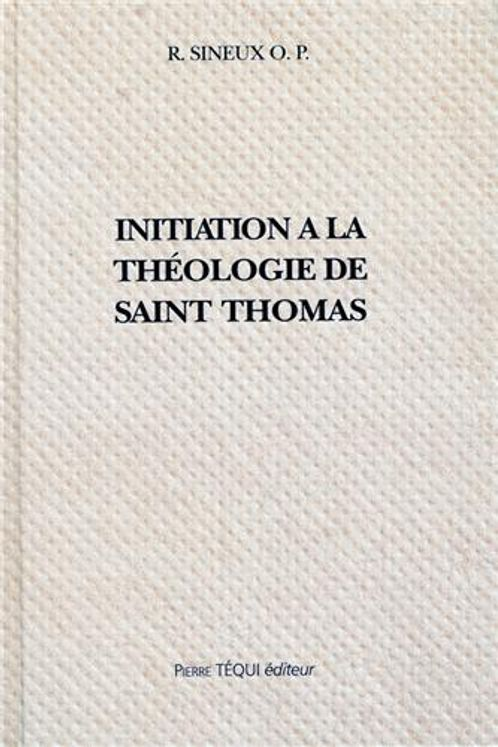 Initiation a la theologie de st thomas