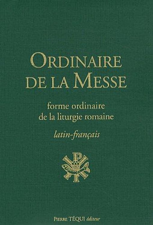 Ordinaire de la messe latin-français