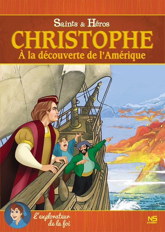 Christophe, à la découverte de l'Amérique - DVD