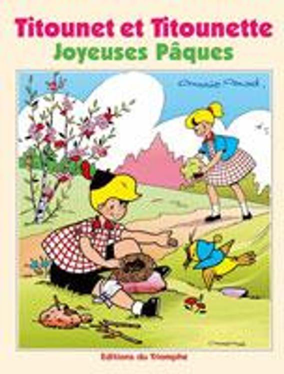 Titounet et Titounette 23 - Joyeuses Pâques !