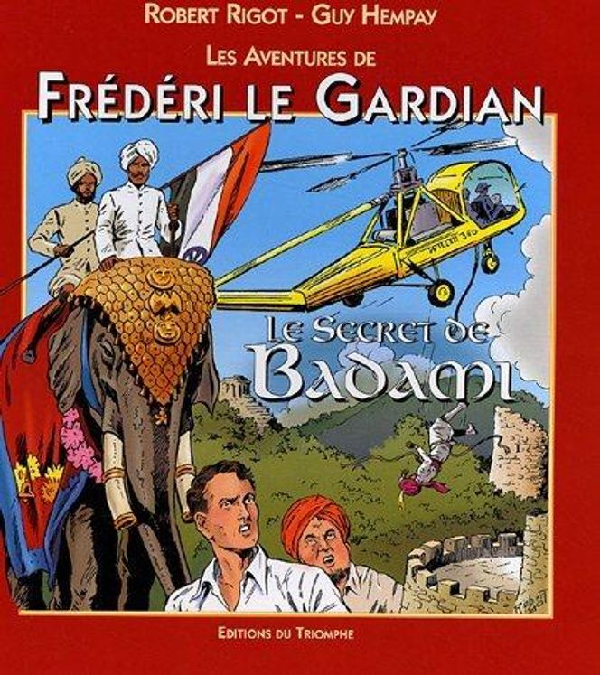 Frédéri le Gardian 05 - Le secret de Badami