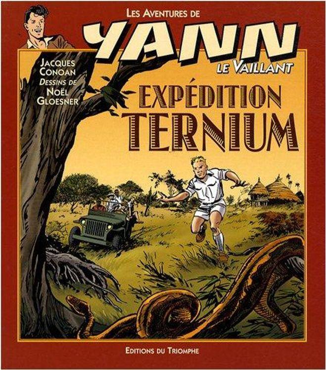 Yann le Vaillant 08 - Expédition Ternium BD