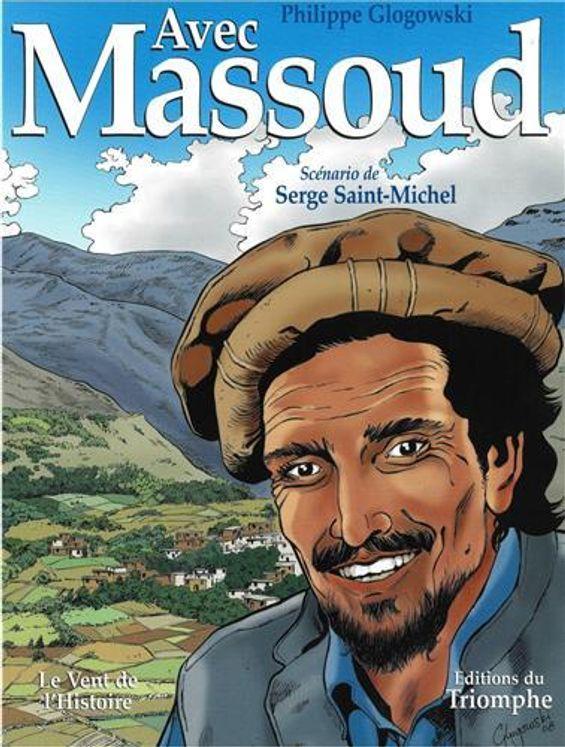 Avec Massoud - BD