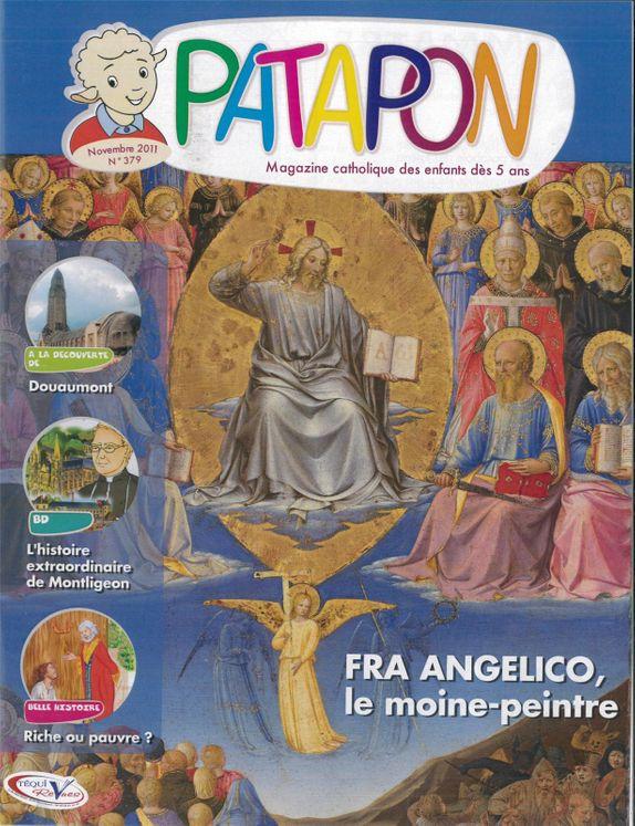Fra Angelico, le moine-peintre - revue Patapon Novembre 2011 N°379