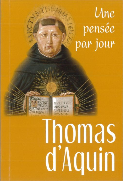 Thomas d´Aquin : une pensée par jour
