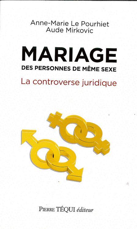 Mariage des personnes de même sexe