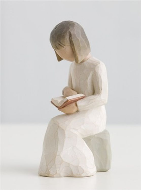 "Statuette ""Wisdom"" La Sagesse"