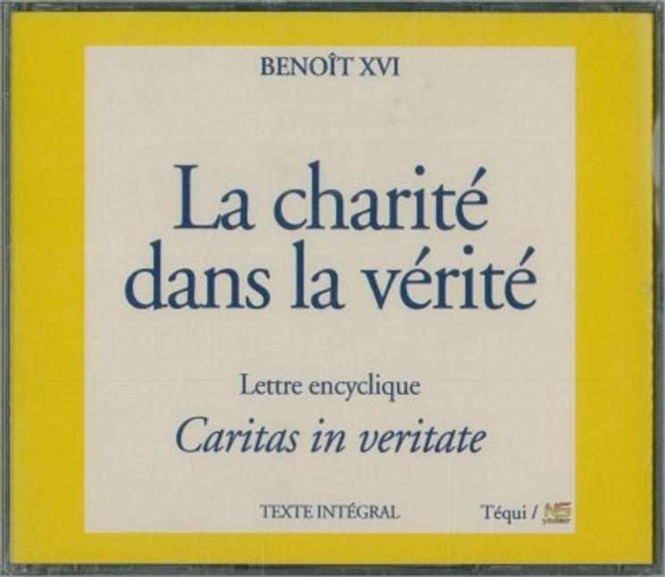 La charité dans la vérité - Caritas in veritate (4 CD)