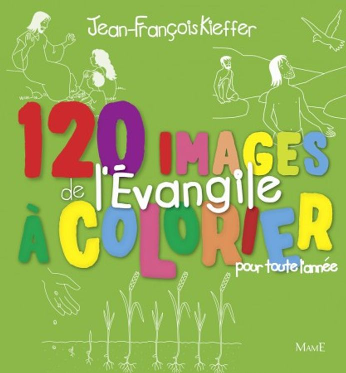 120 images de l´Evangile à colorier