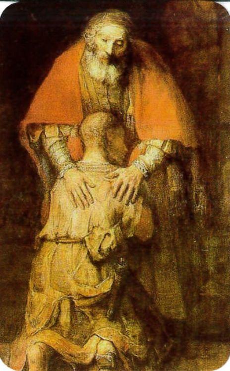 Paquet de 50 Cartes - Prière - CB1131 - Enfant Prodique (Rembrandt)