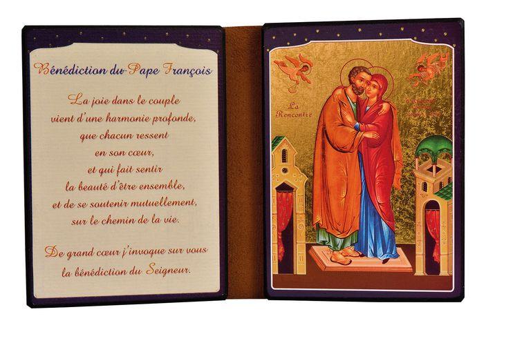 Diptyque - Anne et Joachim - 13 x 19 cm (ouvert)