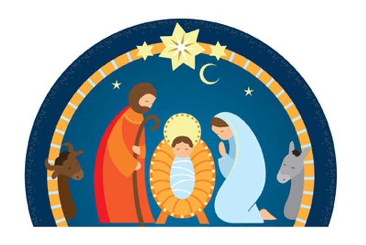 Nativité bleue