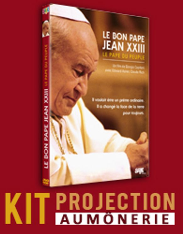 DVD Jean XXIII et licence de projection grand public