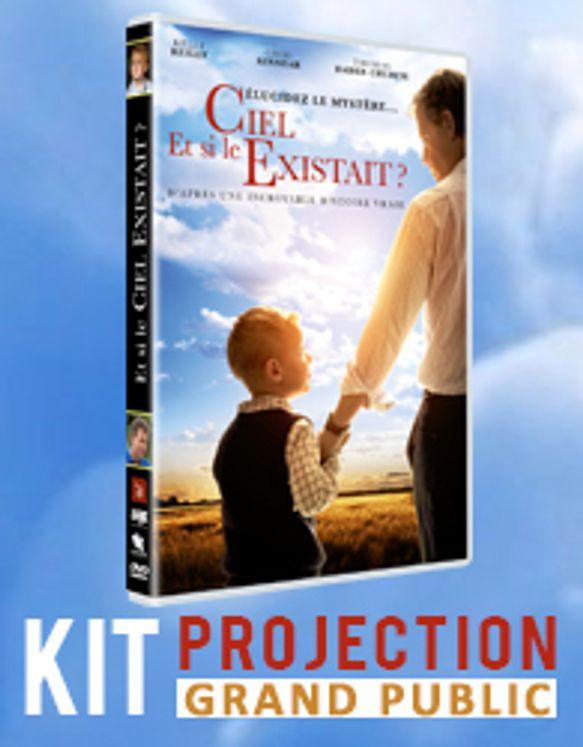 Et si le ciel existait ? - DVD et licence de projection grand public