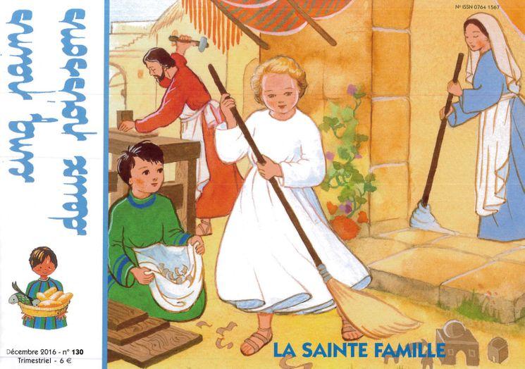 Cinq pains deux poissons 130 - La Sainte Famille