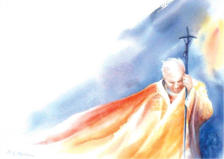 Jean-Paul II Pèlerin - Lot de 10