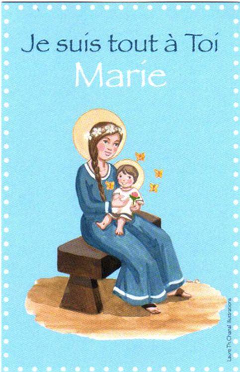 Lot de 25 - Image Communion Marie