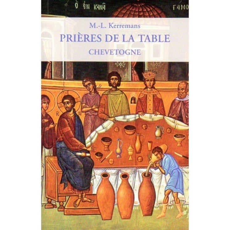 Prières de la table