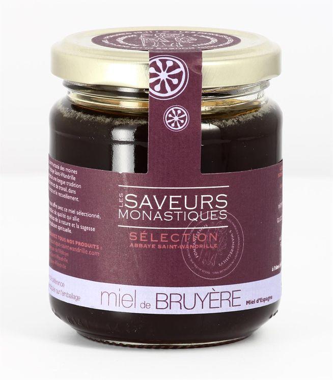 Miel de bruyère d´Espagne, pot verre de 250 g
