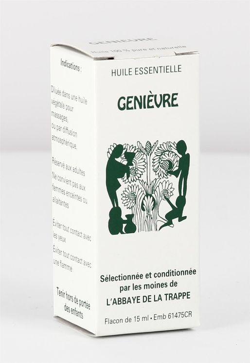 Huile essentielle Genièvres Baies et Rameaux, flacon de 15 ml