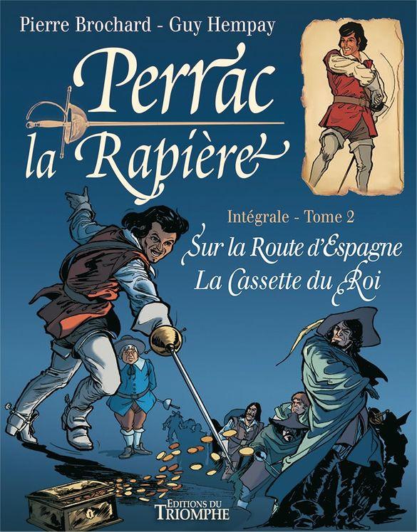 Perrac la Rapière - Intégrale Tome 2