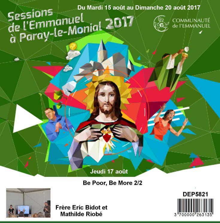 Be Poor, Be More 2/2 Session du 15 au 20 août 2017