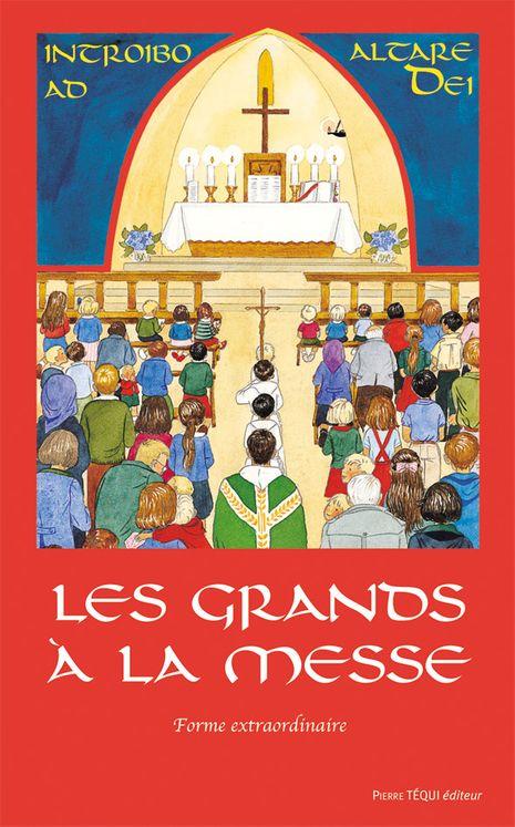 Les grands à la messe - Rite de Saint Pie V