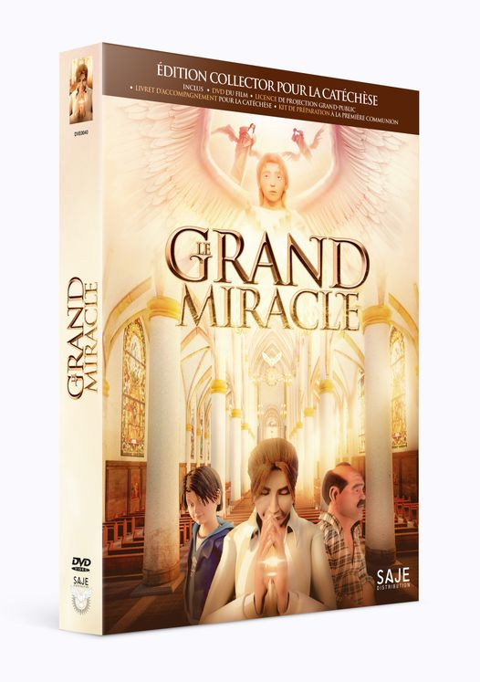 Coffret Le Grand Miracle - DVD