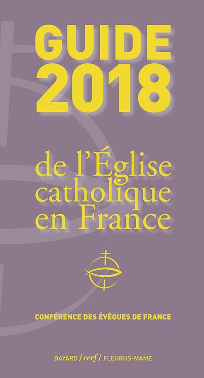 Guide 2018 de l´Eglise catholique en France