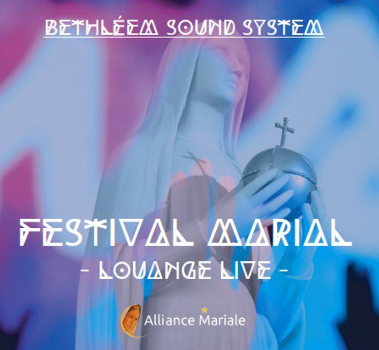 Festival Marial - Louange Live - CD