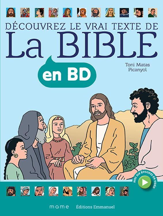 La Bible en BD - Couverture souple