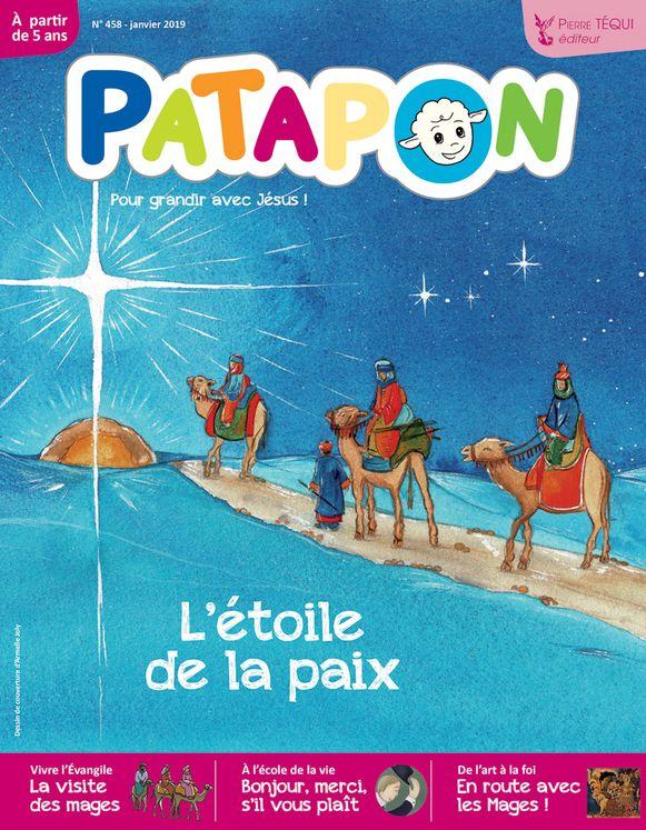 Patapon Janvier 2019 N°458 - L´étoile de la paix