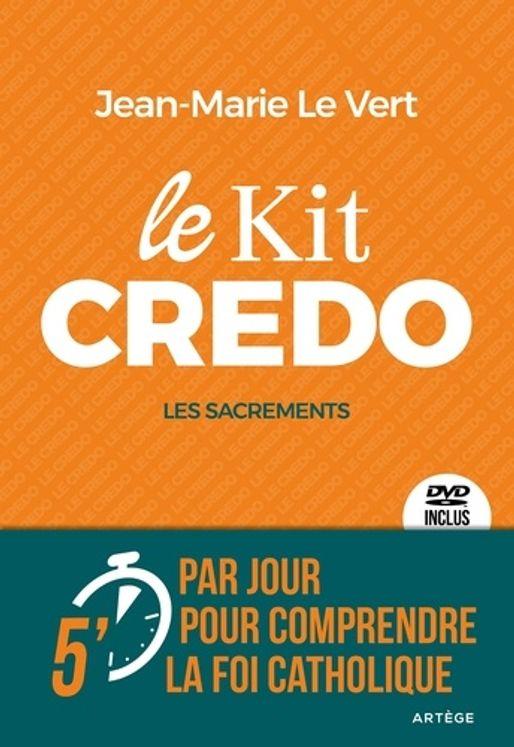 Le kit CREDO : Les sacrements - Livre + DVD