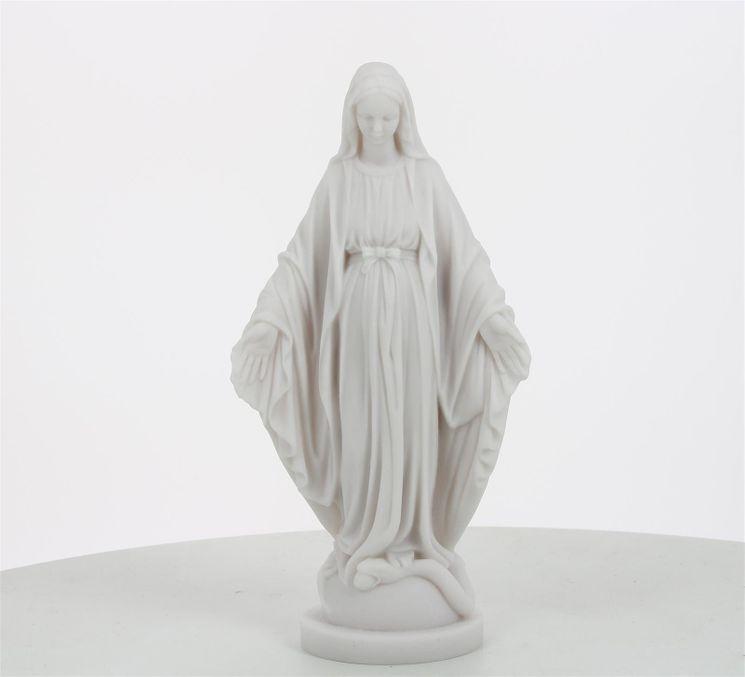 Statue Vierge Miraculeuse en albâtre