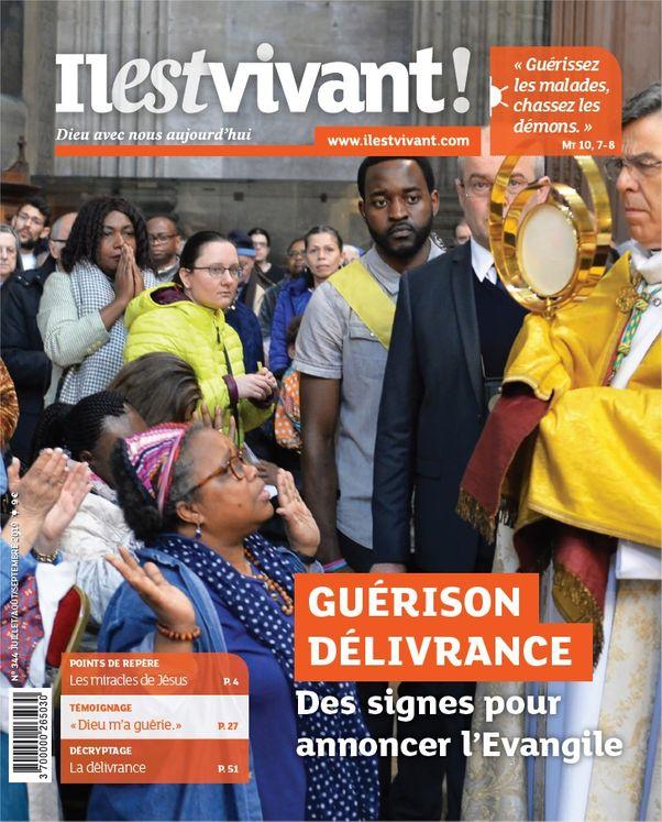 Pack de 5 exemplaires N°344 - Guérir délivrance - Juillet-Août-Septembre 2019