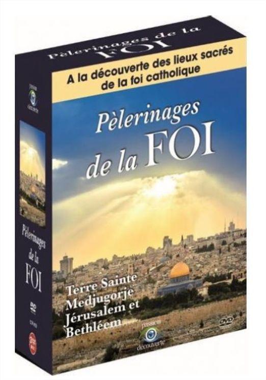 Pèlerinages de la Foi - Coffret 3 DVD