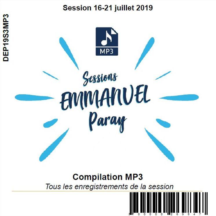 Session 16-21 juillet 2019, CD MP3