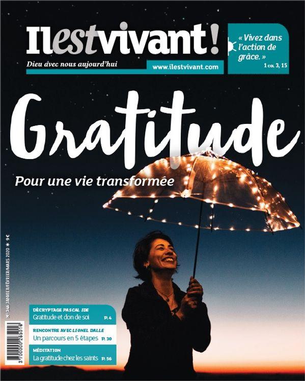 Pack de 50 exemplaires - N°346 - Gratitude - Janvier-Février-Mars 2020