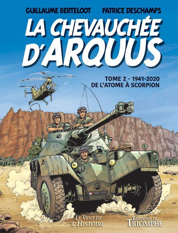 La Chevauchée d'Arquus (1941- 2020) - BD