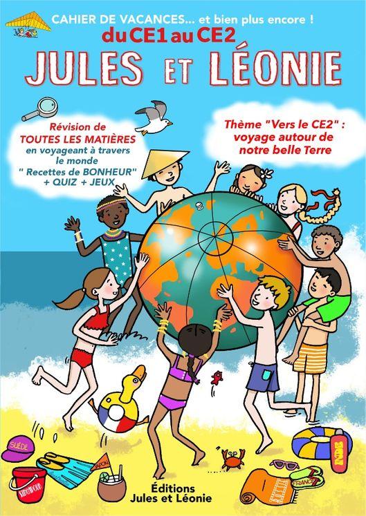 Cahier de vacances Jules et Léonie du CE1 au CE2