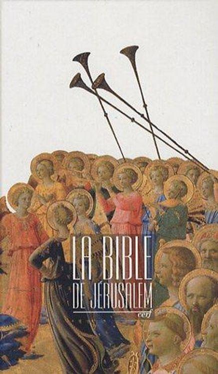 La Bible de Jérusalem (format 10x16 - couverture cartonnée)