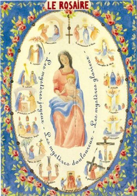 Poster Le Rosaire
