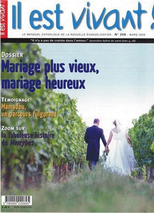 N°258 - Mariage plus vieux, mariage heureux