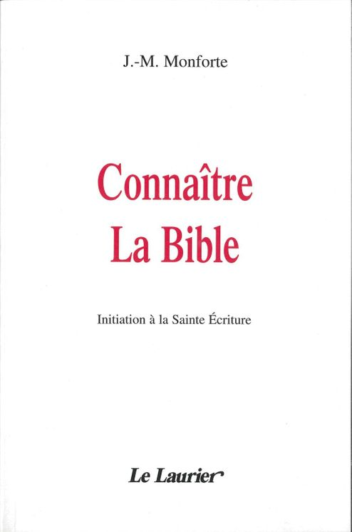 Connaître la Bible
